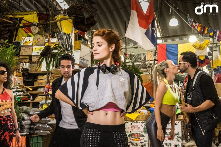 Pancha Contreras Music Video - Medellin Market